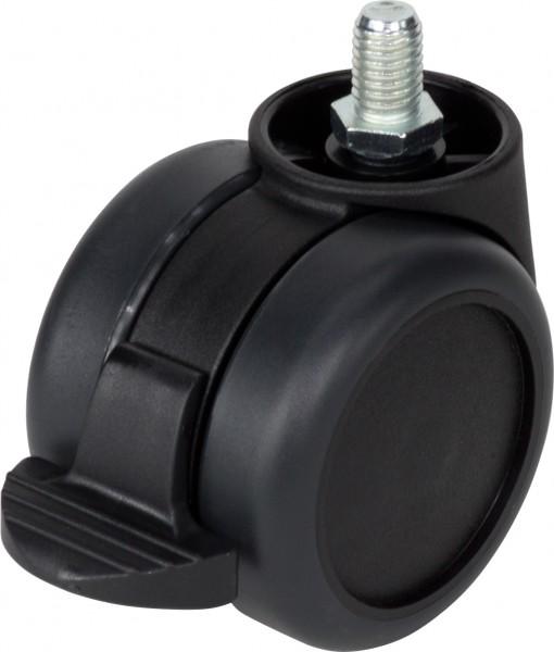 DKFD 38-6000 / weiche Räder für harte Böden / mit Feststeller / Ø 60 mm