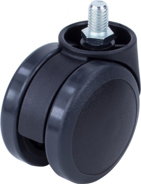 DKD 38-600 / weiche Räder für harte Böden / ohne Feststeller / Ø 60 mm