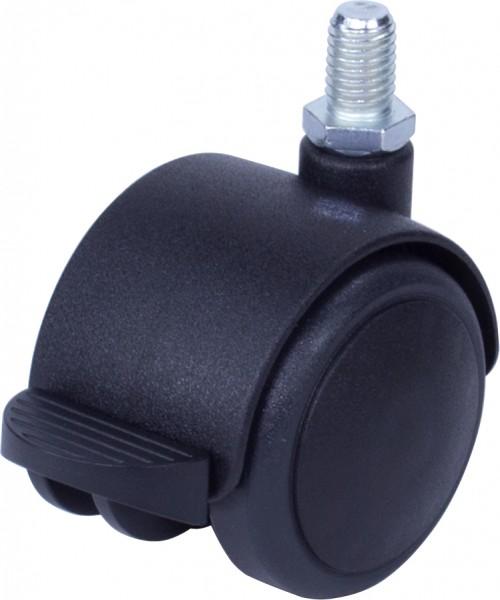 DRKAFD 500 / weiche Räder für harte Böden / mit Feststeller / Ø 50 mm