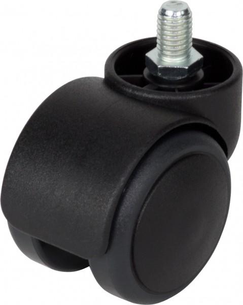DKAID 38-500 / weiche Räder für harte Böden / mit lastabhängiger Bremse / Ø 50 mm