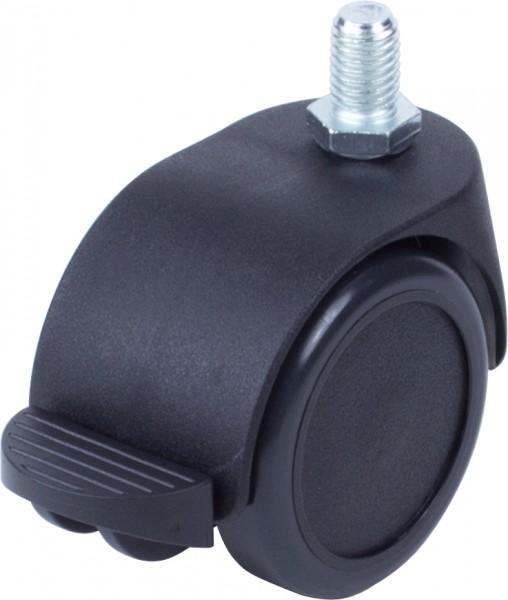 DKAFD 5000 / weiche Räder für harte Böden / mit Feststeller / Ø 50 mm