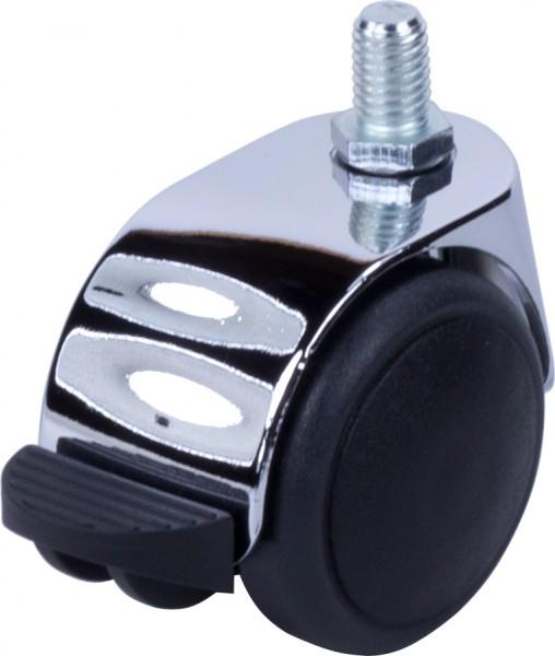DZAFD 500 / weiche Räder für harte Böden / mit Feststeller / Ø 50 mm
