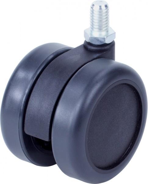 DKD 6000-62 / weiche Räder für harte Böden / ohne Feststeller / Ø 60 mm